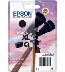 Epson tinta singlepack black 502xl ink C13T02W14020 - 8715946652818