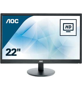 Aoc E2270SWN monitor led - 21.5''/54.61cm - 1920x1080 full hd - 16:9 - 200cd - AOC-M E2270SWN