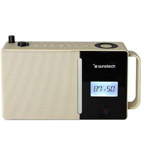 Radio portatil Sunstech RPDS500BR bluetooth usb marron - 8429015019005
