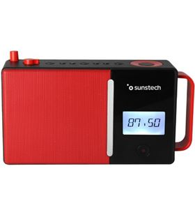 Sunstech RPDS500RD radio portatil bluetooth usb roja - RPDS500RD