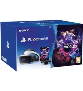 Gafas de realidad virtual Sony para ps4 + cámara + juego vr worlds 9882466.. - 0711719947264