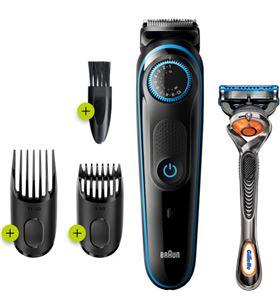 Braun BT5240 afeitadora y recortadora de barba y maquinilla gillette fusion - 4210201281931