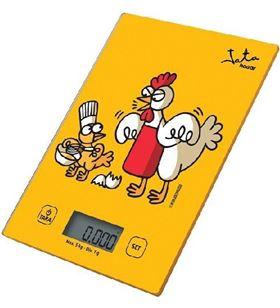 Jata báscula de cocina 731K kukuxumusu - capacidad 5kg - graduación 1g - vi - 8436584381044