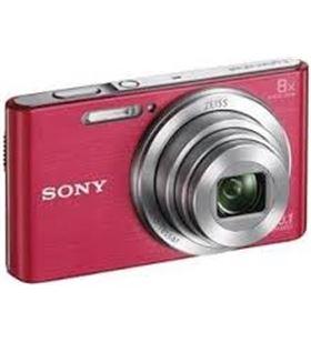 Camara fotos Sony kit dscw830pb rosa 20.1mp 27.1m KW830PB - KW830PBGSFDIYE