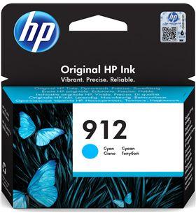 Cartucho de tinta cian Hp nº912 - 315 páginas aprox - compatible según espe 3YL77AE - 3YL77AE