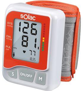 Tensiometro Solac te7800 tensiotek - tensión / pulso cardiaco / arritmias S90700100 - SOL-PAE-TEN S90700100