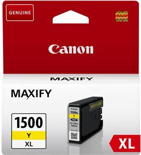 Cartucho de tinta amarillo Canon pgi-1500xl - 12ml - compatible según espec 9195B001 - CAN-PG-1500 AMARILLO XL