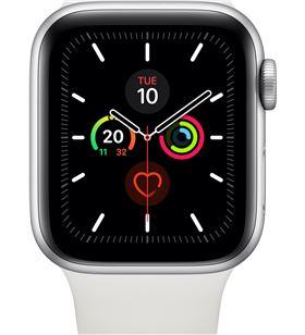Apple watch series 5 gps cell 40mm caja aluminio plata con correa blanca d MWX12TY/A - APL-WATCH S5 MWX12TYA