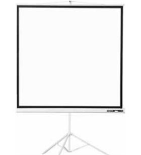 Approx P200T pantalla de proyeccion trípode 200x200 alta calidad tela blanco mate - APP-PAN TRIPODE 200X200