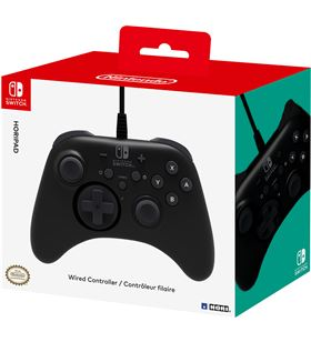 Mando con cable hori horipad para Nintendo switch - función turbo con 3 aju HORI HPAD - HRI-MANDO SWITCH HPAD