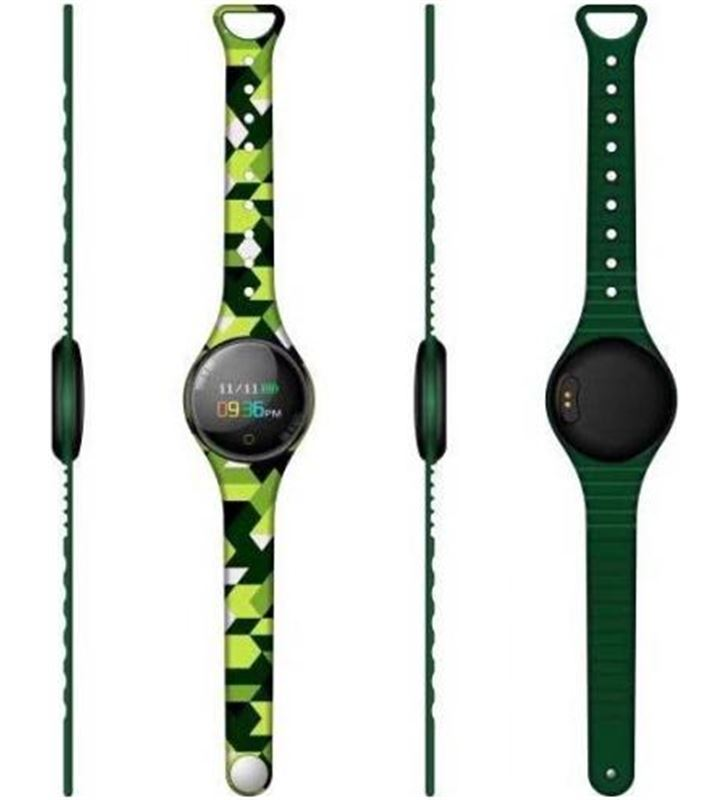 Reloj inteligente Innjoo voom mini green black - pantalla color 2.4cm - bt VOOM MINI GB - 6928978216800