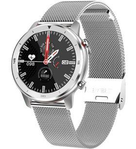 Reloj inteligente Innjoo VOOM CLASSIC SIlver - pantalla 3.38cm - cuantifica - 6928978216725