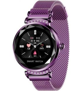 Reloj inteligente Innjoo lady crystal purple - registro distancia - ritmo c LADYC PURPLE - 6928978216879