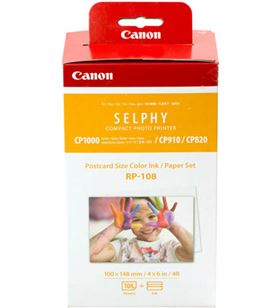 Multipack Canon RP-108 cartucho tinta color + papel fotográfico - imprime h - CAN-MULTIPACK 8568B001