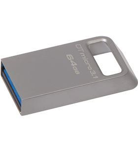 Pendrive Kingston datatraveler dtmc3 micro 64gb - usb 3.1 - lectura 100mb/s DTMC3/64GB - KIN-JETFLASH DTMC3 64GB