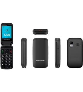 Brigmton BTM5FLIP teléfono libre senior btm 5 flip bluetooth cámara radio fm manos l - 8425081019550-0