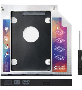 Sihogar.com adaptador para portátil nanocable 10.99.0102 - para sustituir dvd de 12.7mm - NAN-ADP 10.99.0102