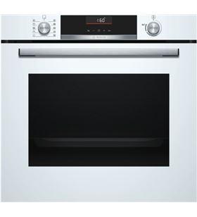 Bosch horno independiente multifunción microondas HBA5360W0 vidrio blanco - HBA5360W0