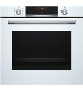 Bosch horno independiente multifunción microondas HBA5360W0 vidrio blanco