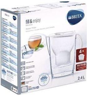 Brita MARELLABL+4FIL jarra de agua con filtro Jarras purificadoras - 4006387081928-0