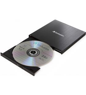 Grabadora externa slimline blu-ray Verbatim 43889 - dvd 8x - bluray 6x - bd 043889 - 043889
