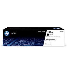 Toner negro Hp 106a - 1000 páginas - compatible según especificaciones W1106A - W1106A