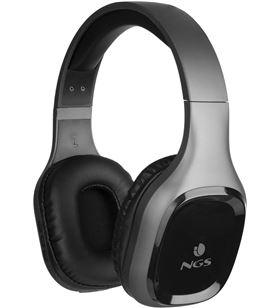 Auriculares bluetooth Ngs ártica sloth gray - bt5.0 - entrada aux 3.5mm - f ARTICASLOTHGRAY - NGS-AUR ARTICASLOTHGRAY