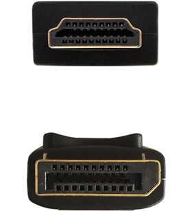 Cable displayport a hdmi Aisens A125-0364 - displayport/macho - hdmi/macho - AIS-CAB A125-0364