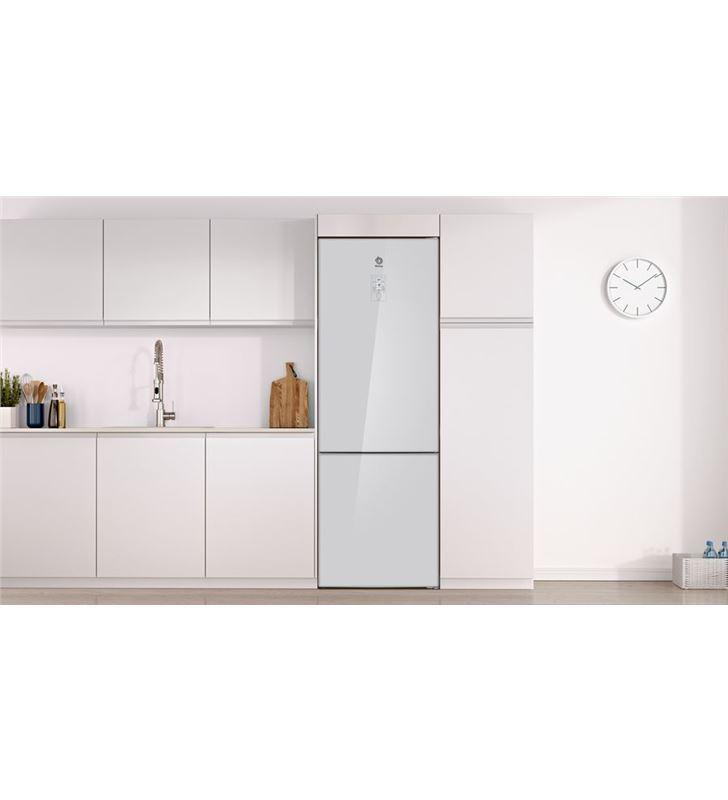Balay 3KFE778WI frigorífico combi clase e 203x70 cm no frost cristal blan - 78798791_7201702417