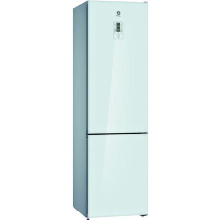 Balay 3KFE768WI frigorífico combi clase e 203x60 cm no frost cristal blan - BAL3KFE768WI