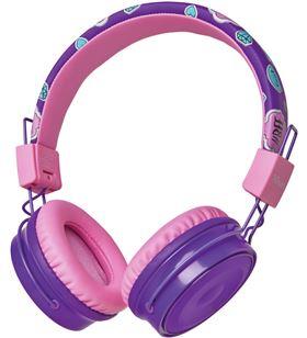 Auriculares bluetooth infantiles Trust comi purple - bt - drivers 40mm - mi 23608 - TRU-AUR 23608