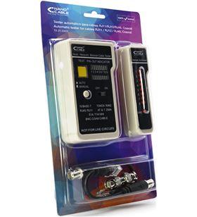 Sihogar.com tester nanocable 10.31.0303 para cable rj11/rj12/rj45 y coaxial - cables st - 10.31.0303