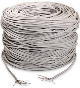 Bobina de cable Aisens A133-0214 - cat5e - utp rígido - awg24 - 305m - gris - AIS-CAB A133-0214