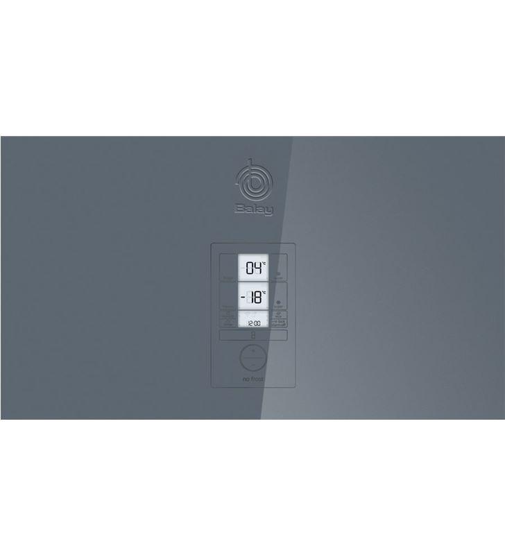 Combi Balay 3KFE768GI 203cm nf cristal gris a++ Frigoríficos combinados - 78798731_7167425981