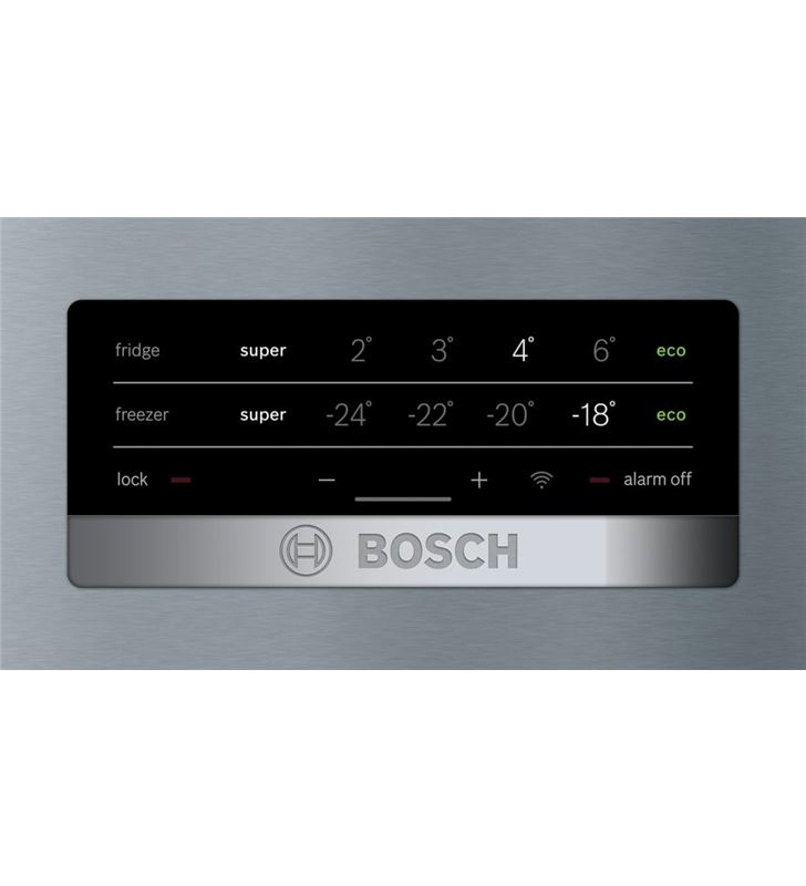 Bosch KGN36XIEP combi 186cm nf inox e Frigoríficos combinados - 78652384_7658871420