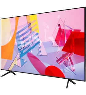 Lcd qled edge 75'' Samsung QE75Q60T dual led hdr 10+ one remote - 79266346_6432973098