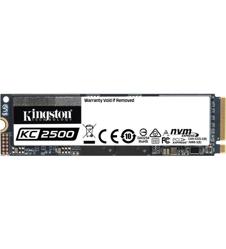 Disco sólido kiNgston kc250 500gb - pcie nvme gen 3.0 - m.2 2280 - lectura SKC2500M8/500G - SKC2500M8500G