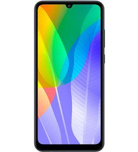 Smartphone móvil Huawei y6p midnight black - 6.3''/16cm - cam (13+5+2)/8mp - 51095KYV - HUA-SP Y6P MBK