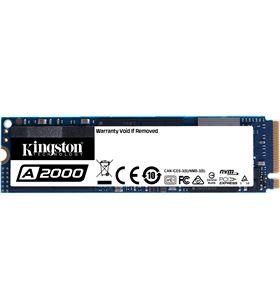 Disco sólido Kingston sa2000m8 250gb - pcie nvme gen 3.0- m.2 2280 - lectur SA2000M8/250G - KIN-SSD SA2000M8 250G