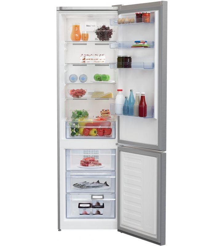 Beko RCNA406K40XBN frigorífico combi neo frost pro clase e ++ inox - 5944008924201-0