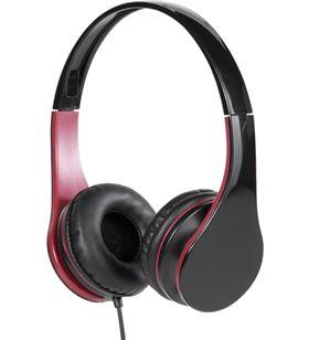 Auriculares diadema Vivanco 25170 moove rojo negro brillante 25170V - 25170V