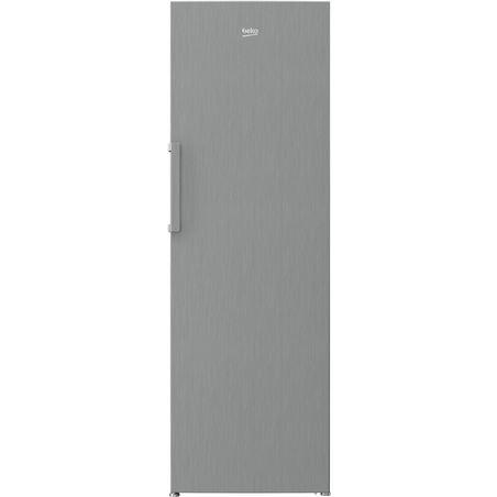 Beko congelador vertical rfne312i31xbn clase a++ no frost acero in 185cm - 8690842200229