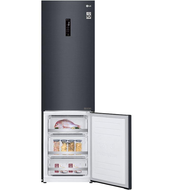 Lg GBB72MCDFN frigorífico combi no frost 203x59,5 clase d negro - 67450296_0893544763