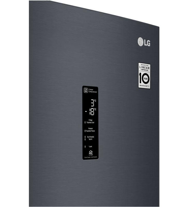 Lg GBB72MCDFN frigorífico combi no frost 203x59,5 clase d negro - 67450296_0500069690