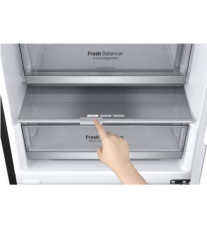 Lg GBB72MCDFN frigorífico combi no frost 203x59,5 clase d negro - 67450296_0273768650