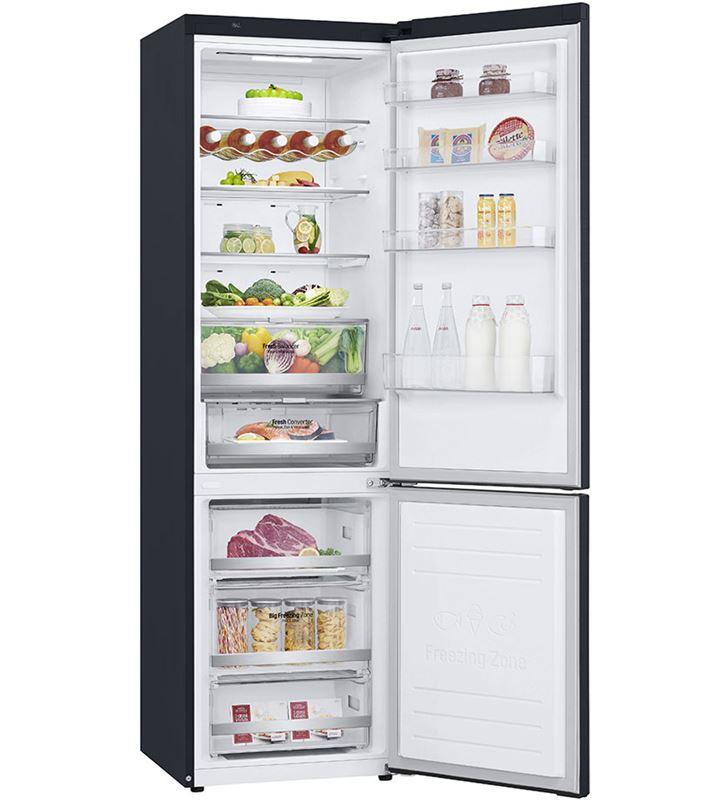 Lg GBB72MCDFN frigorífico combi no frost 203x59,5 clase d negro - 67450296_5106250416