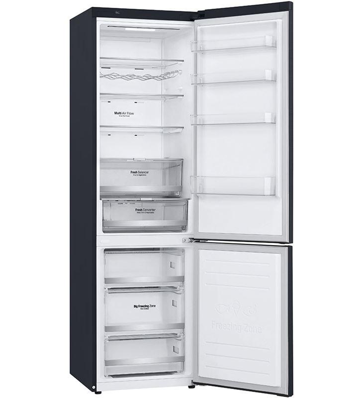 Lg GBB72MCDFN frigorífico combi no frost 203x59,5 clase d negro - 67450296_8342102395