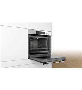 Horno Bosch HRA5380S1 independiente multifuncion vapor negro/inox - HRA5380S1