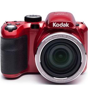 Cámara digital Kodak pixpro az421 roja - 16mpx - lcd 3''/7.62cm - zoom 42x o AZ421RD - KOD-CAMARA AZ421RD