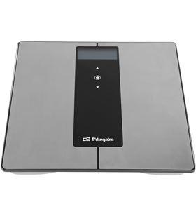 Orbegozo -PAE-BAS PB 2227 báscula de baño pb 2227 - pantalla lcd - 4 sensores - hasta 180kg 17547 - ORB-PAE-BAS PB 2227
